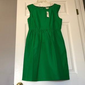 J. Crew Green Party Dress